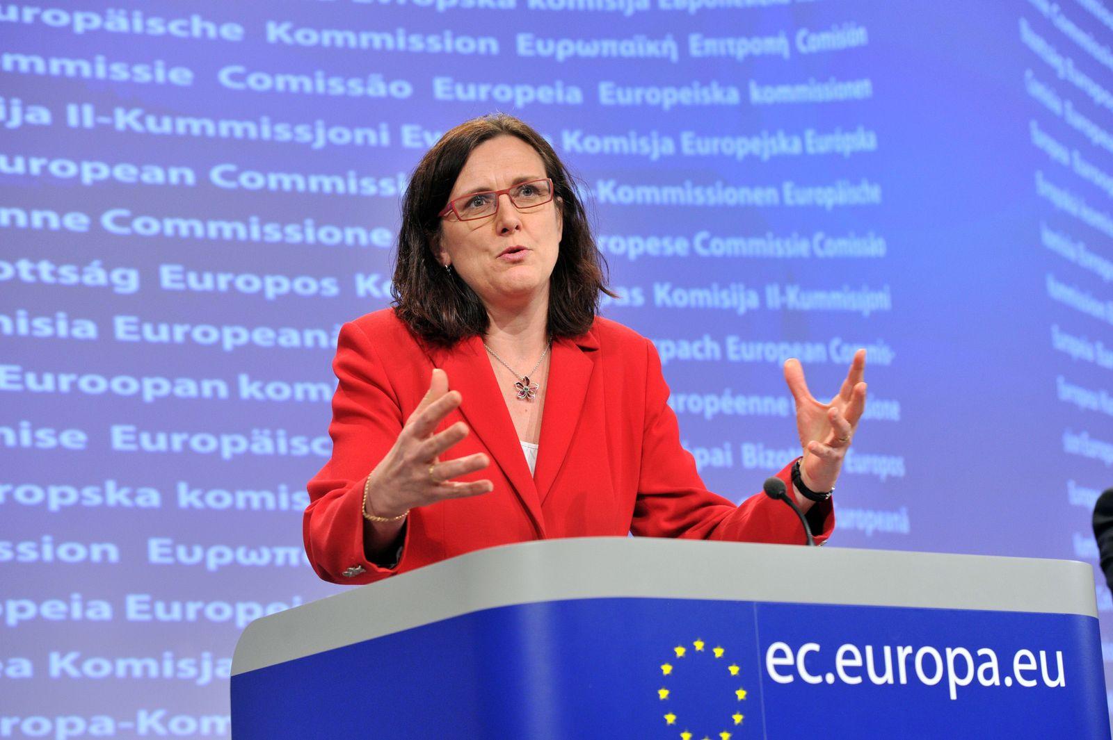 Malmström / EU Kommisarin / Vorratsdatenspeicherung