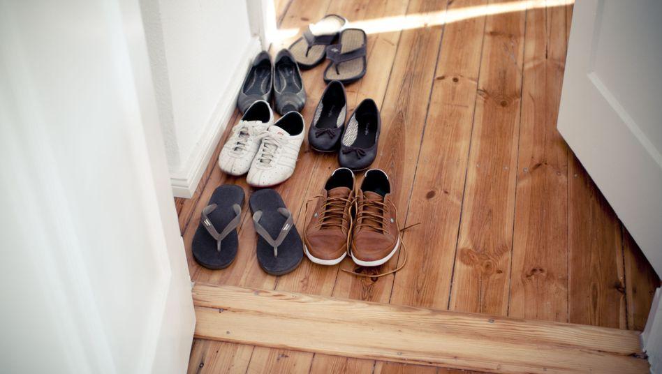 Schuhe vor der Tür ausziehen - ist das typisch deutsch? Oder türkisch?