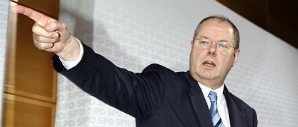 Finanzminister Steinbrück: Der Parteirat hatte Gesprächsbedarf