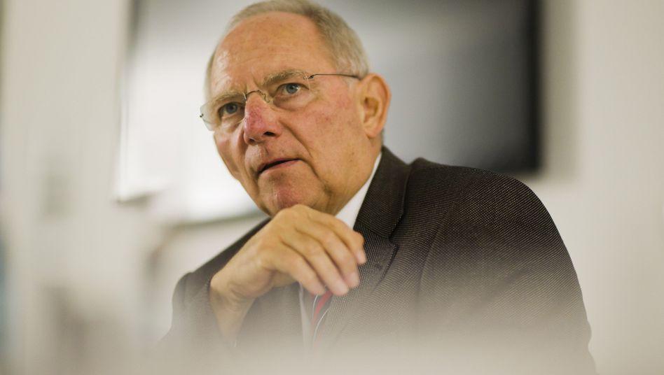 Finanzminister Schäuble: Trendwende bei den Steuereinnahmen?