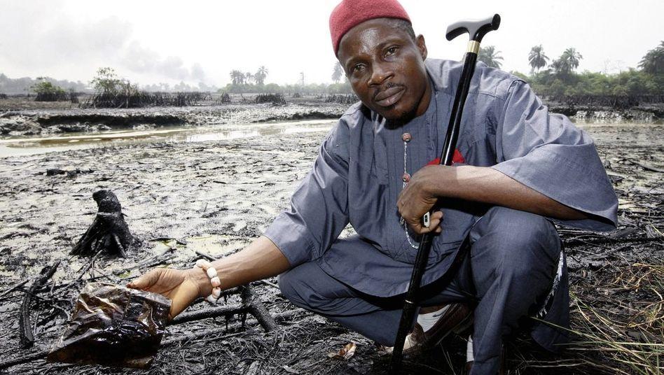 Nigerianischer Kläger Dooh: »Ich will, dass die bei uns ordentlich saubermachen«