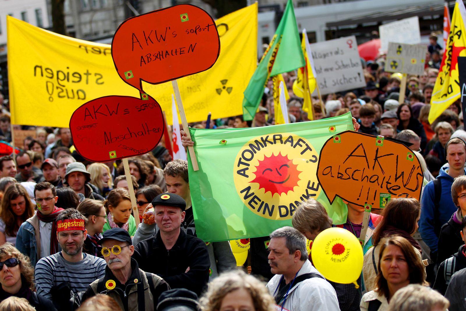 Anti-Atom-Demonstration / Köln