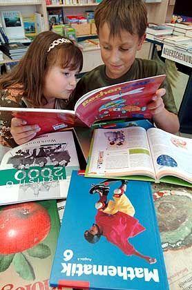 Lesende Schüler: Inhalt statt Form
