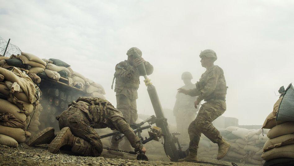 US-Soldaten in Afghanistan (Archivbild): Der Abzug wird verzögert
