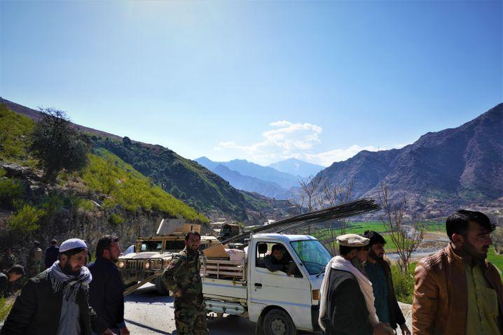 Im verschlungenen Pech-Tal haben US-Soldaten einige Niederlagen gegen die Taliban erlitten
