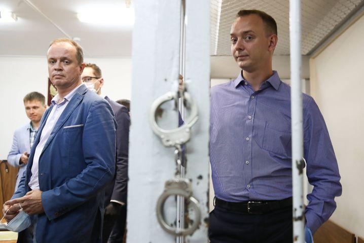 Iwan Safronow im Gerichtssaal