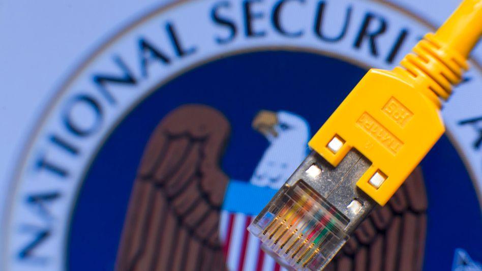 NSA-Logo: Diskussion um Abschnitt 215 des Patriot Act