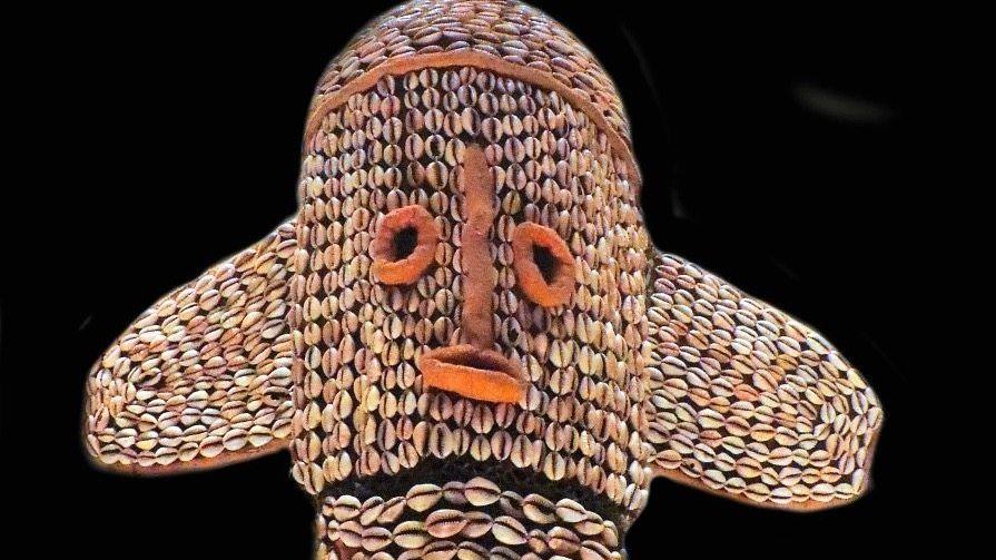 Heilig: Elefantenmasken wie diese kamen bei Ritualen zum Einsatz