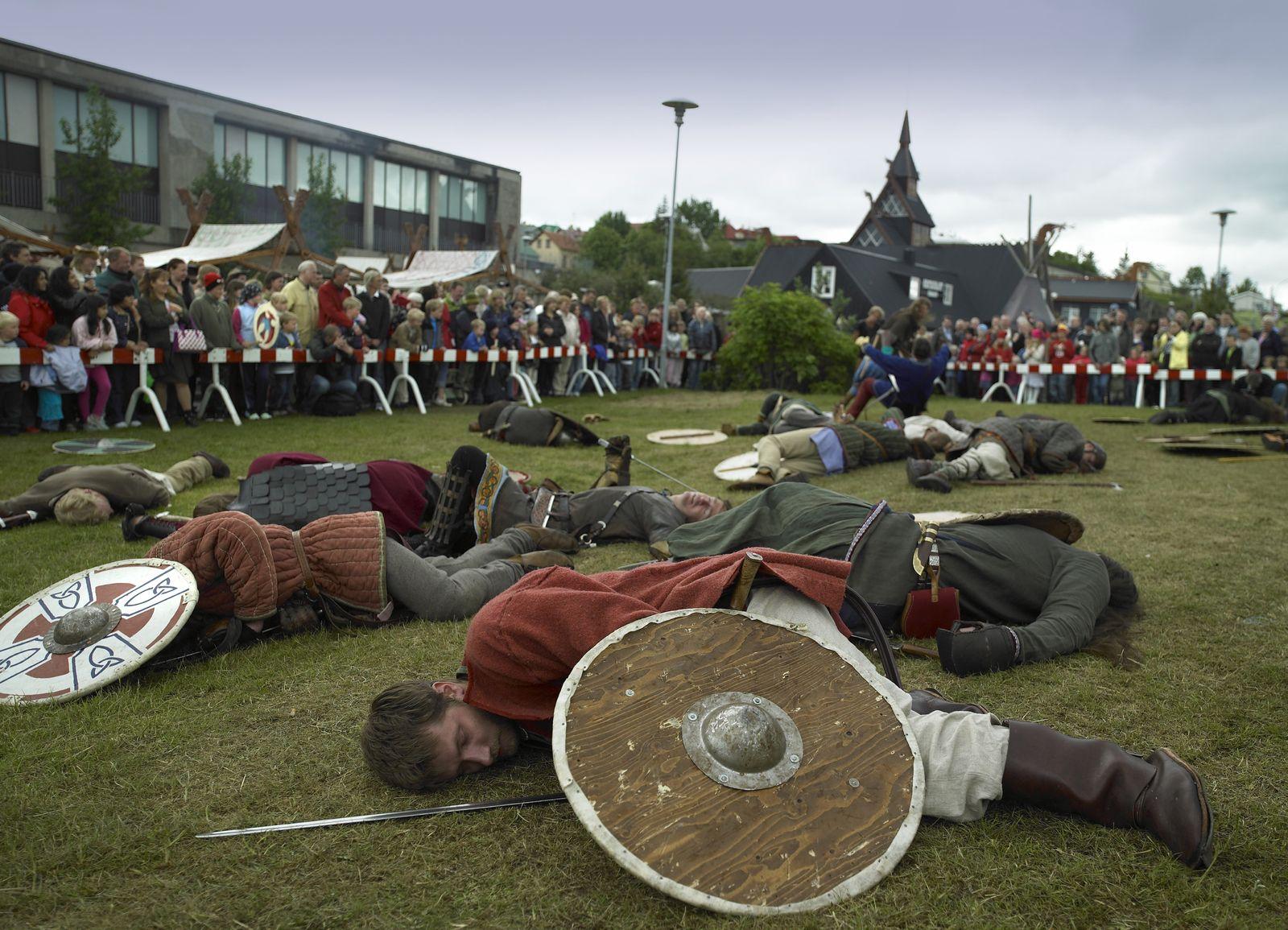 NICHT MEHR VERWENDEN! - Symbolbild/ Island/ Viking Festival
