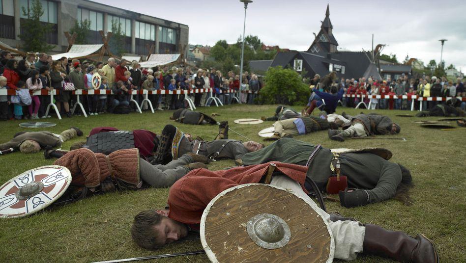 Wikinger-Festival in Island: Moderne Freude am altertümlichen Gemetzel