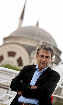 Turkish novelist Orhan Pamuk in Istanbul