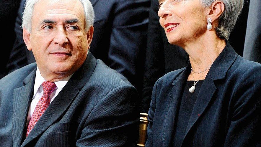 Finanzprofis Strauss-Kahn, Lagarde: Vorteil Frau, Nachteil Pass