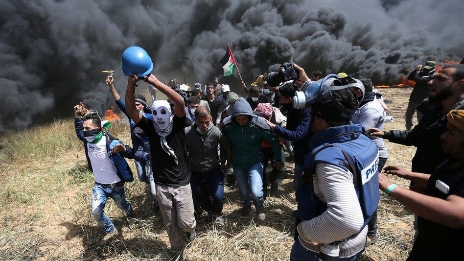 Unruhen in Gaza