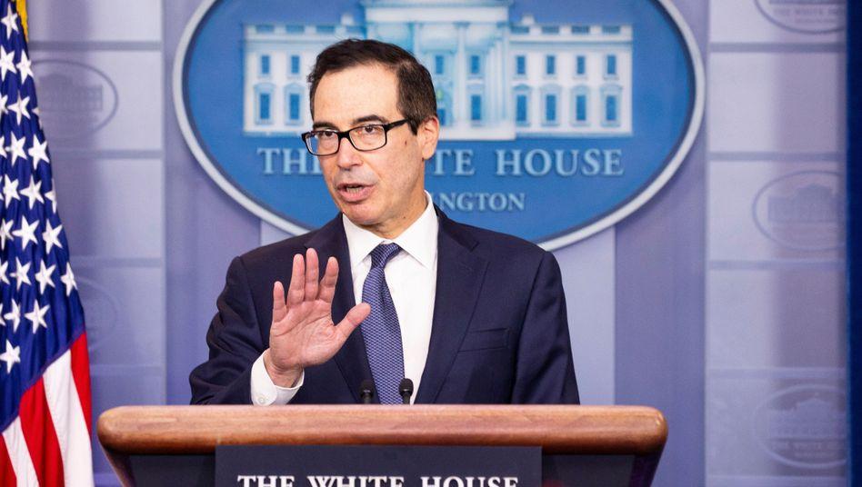 US-Finanzminister Steven Mnuchin hat der Türkei mit neuen Sanktionen gedroht