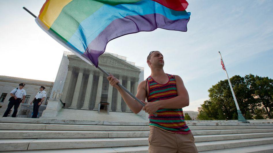 Gleichstellung: Oberstes US-Gericht kippt Bundesgesetz gegen Homo-Ehe