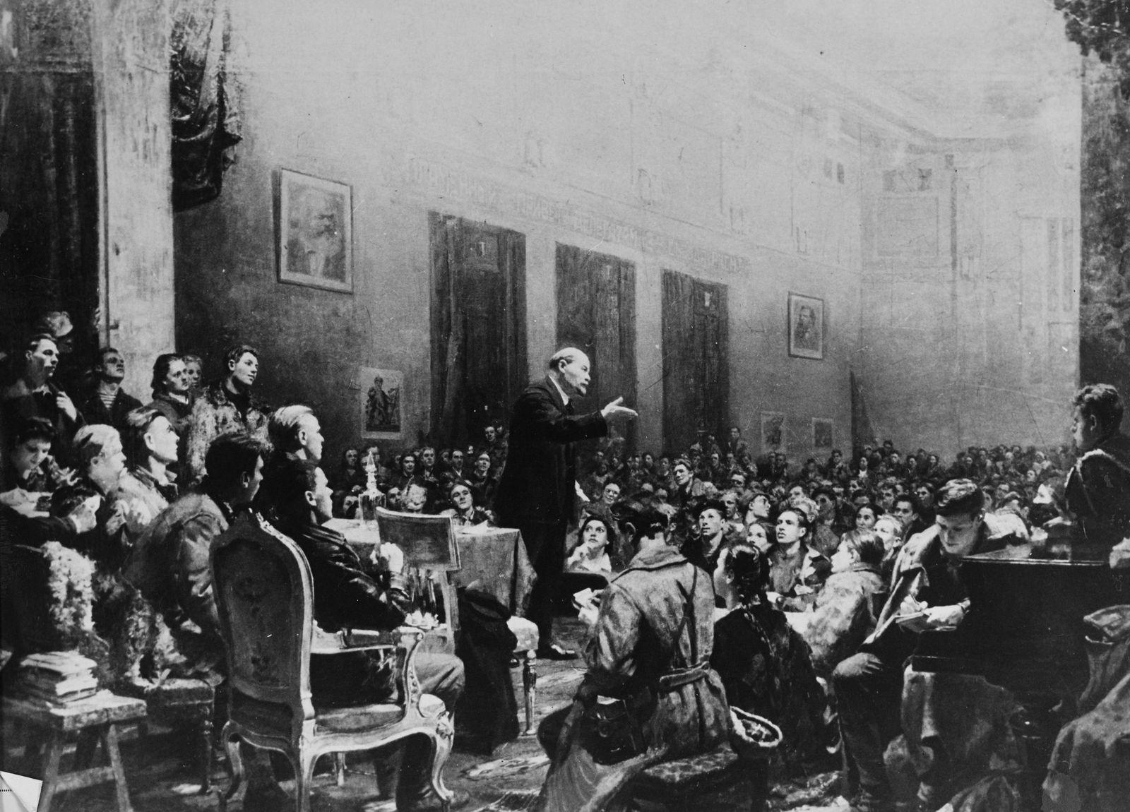 Life of Lenin Vladimir Ilyich Ulyanov Lenin Russian Communist Revolutionary Politician and Politi