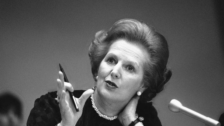 Margaret Thatcher ist tot: Die Eiserne Lady