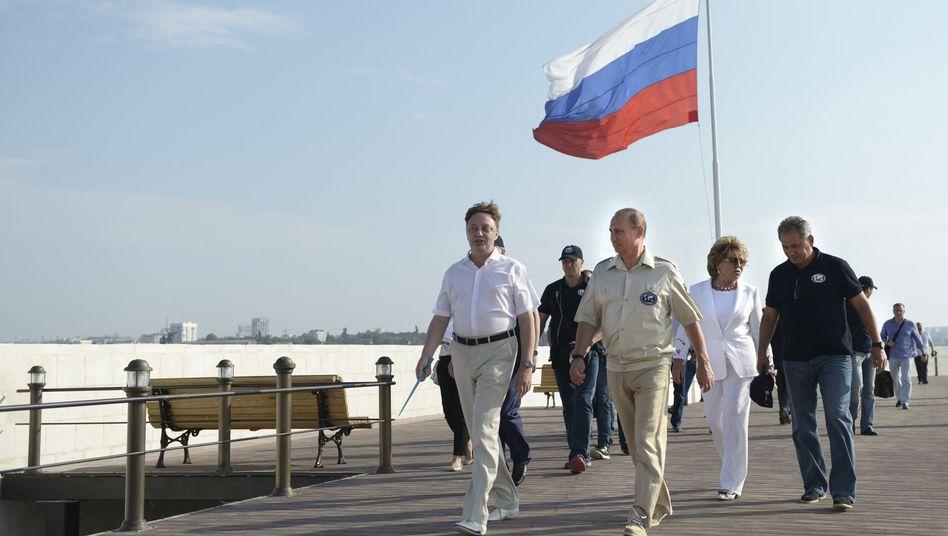 Wladimir Putin auf der Krim (Archivbild)