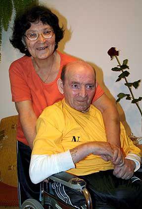 Jan Grzebski with his devoted wife Gertruda.