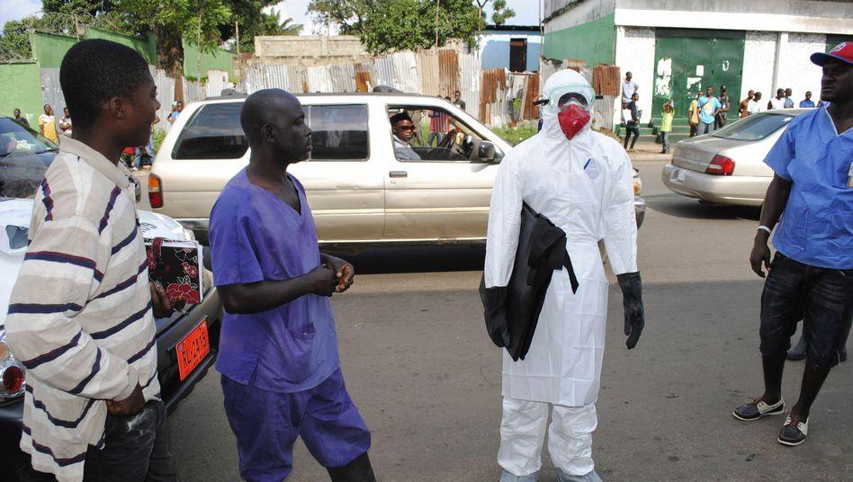 """Einsatz gegen Ebola in Liberia: """"Dies ist nicht mehr nur eine Epidemie"""""""