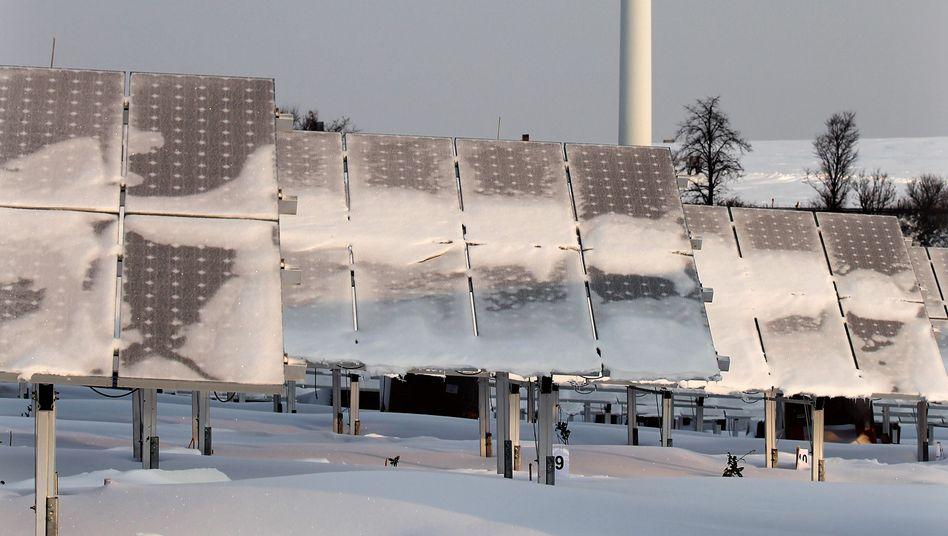Solaranlage in Sachsen: Deutscher Ökostrom hilft Frankreich aus der Patsche