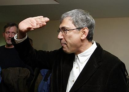 """Orhan Pamuk's trial for """"insulting Turkishness"""" has been abandoned."""