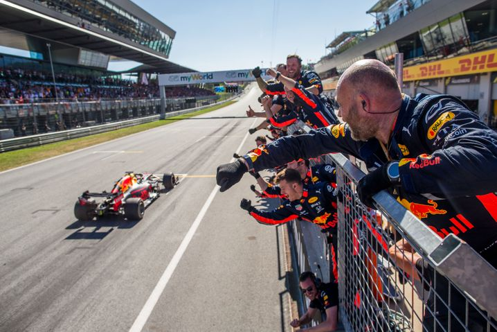 Formel-1-Strecke in Spielberg