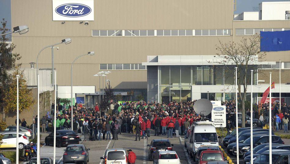 Ford-Werk in Genk: Kampf um 4300 Arbeitsplätze