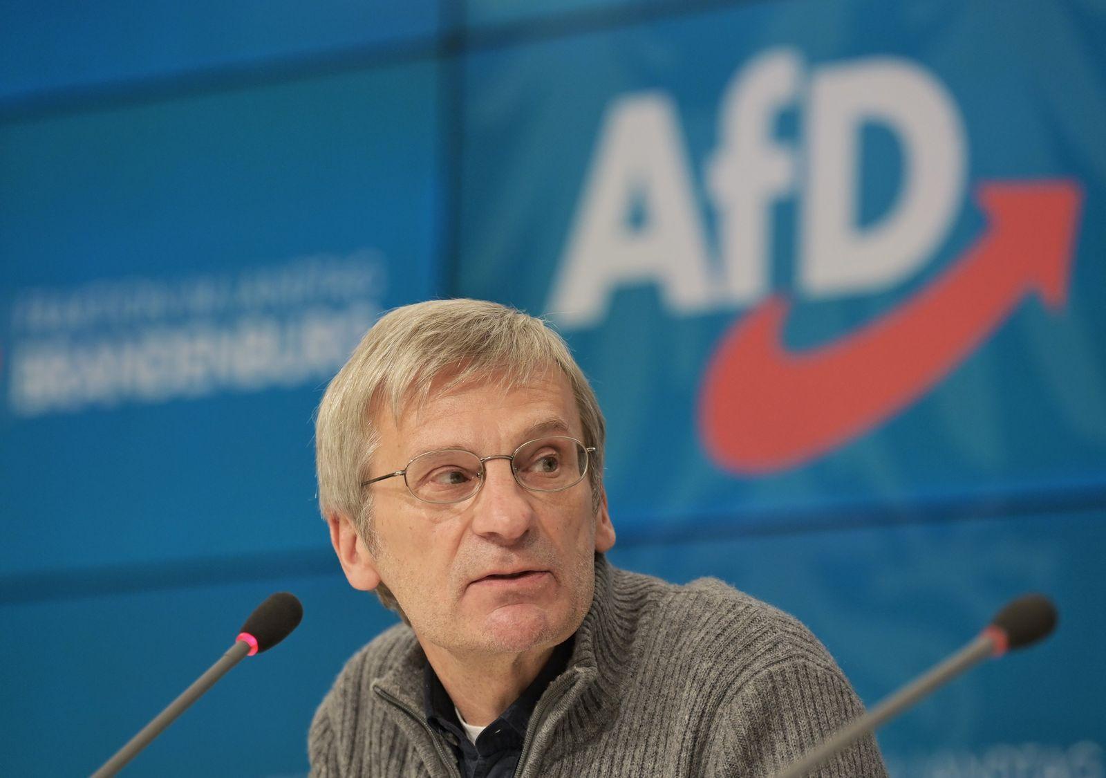 Brandenburger AfD wählt neuen Fraktionsvorsitz