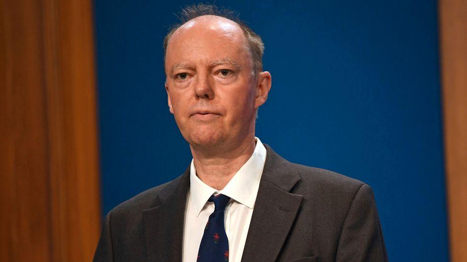 Chris Witty ist der oberste Gesundheitsberater der britischen Regierung