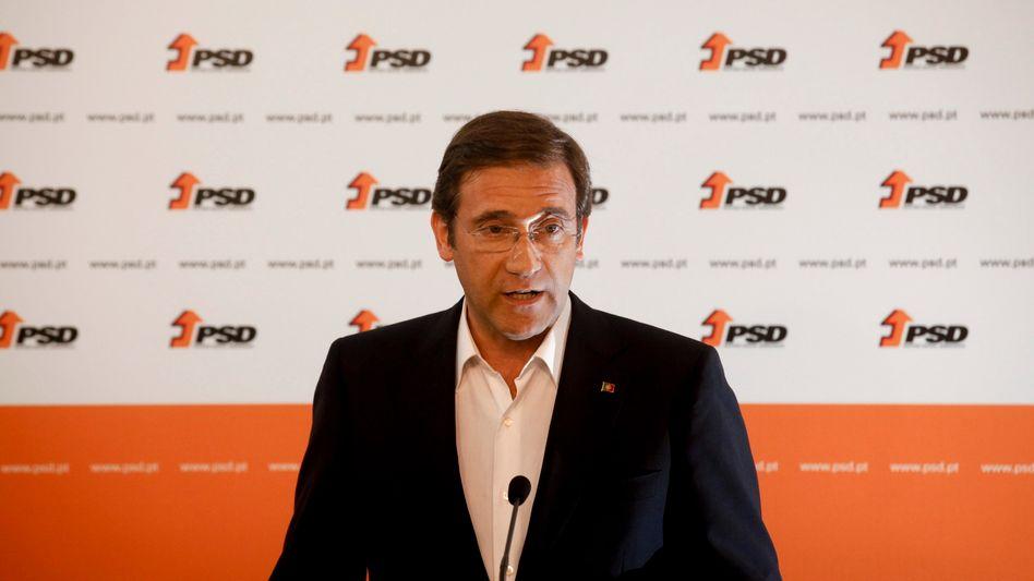 """Portugals Ministerpräsident Passos Coelho: """"Reformkurs fortführen"""""""