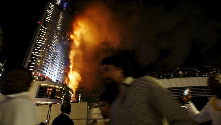 Dubai: Luxushotel in Flammen