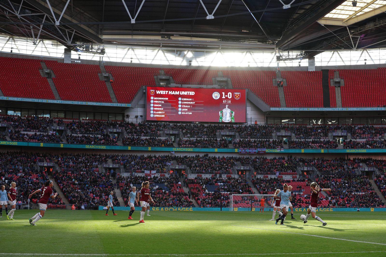 EINMALIGE VERWENDUNG WFC/ Manchester City/ West Ham United