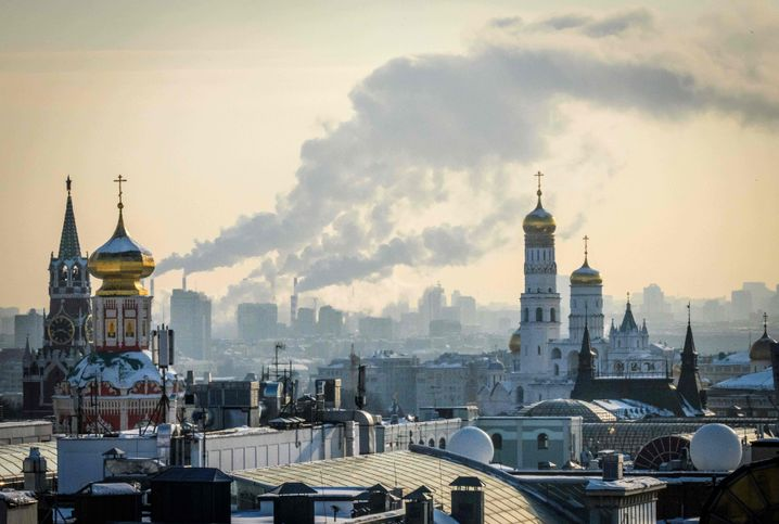The Kremlin in Moscow: All the big names in Russian politics today owe their position to Putin.