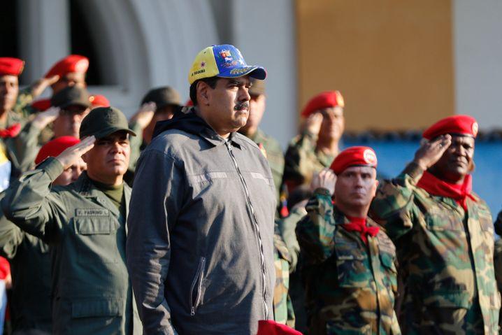 Machthaber Maduro: Der Großteil der Soldaten hielt zu ihm