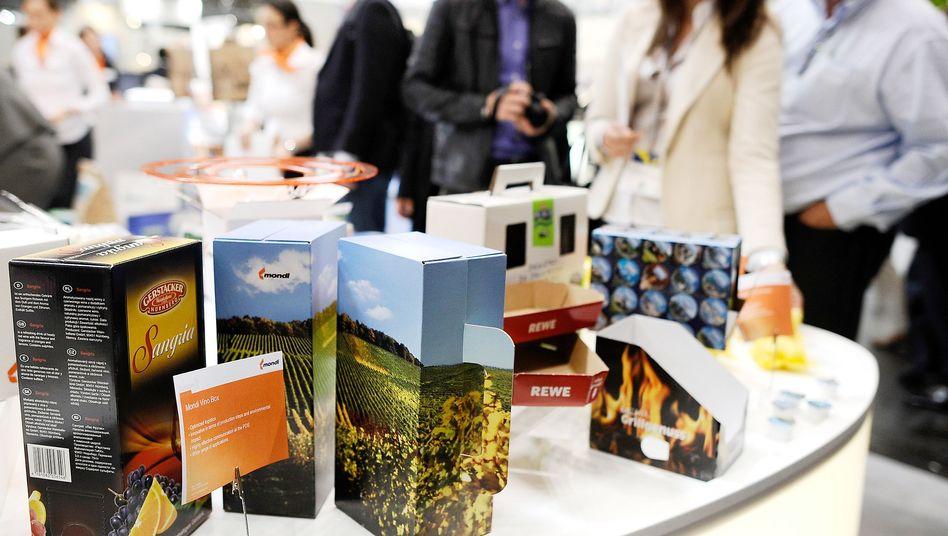 Verpackungsmesse in Düsseldorf: 55 Kilo Wellpappe pro Kopf jedes Jahr