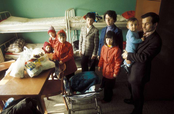Aussiedlerfamilie in Unna-Massen (1989): Flucht aus der Sowjetunion