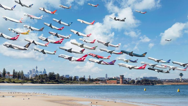 Eindrucksvolle Flughafenfotos: Ready for take-off