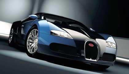 Bugatti 16.4 Veyron: 4,4 Meter Sportwagen für über eine Million Euro