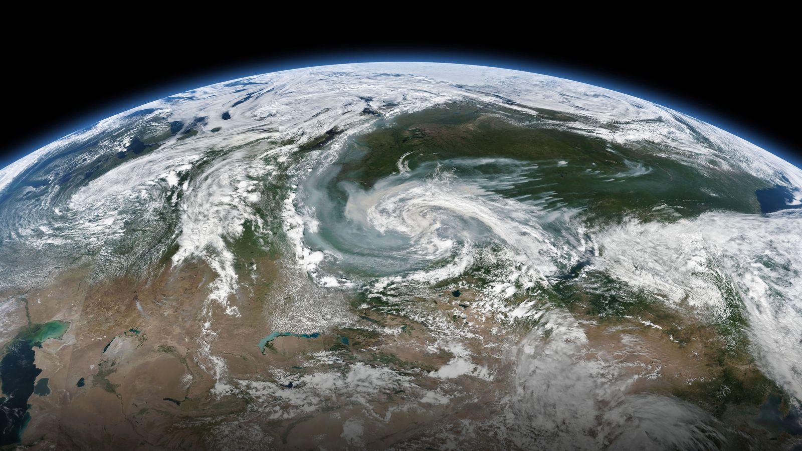 Am Nordpolarkreis drohen erneut riesige Brände