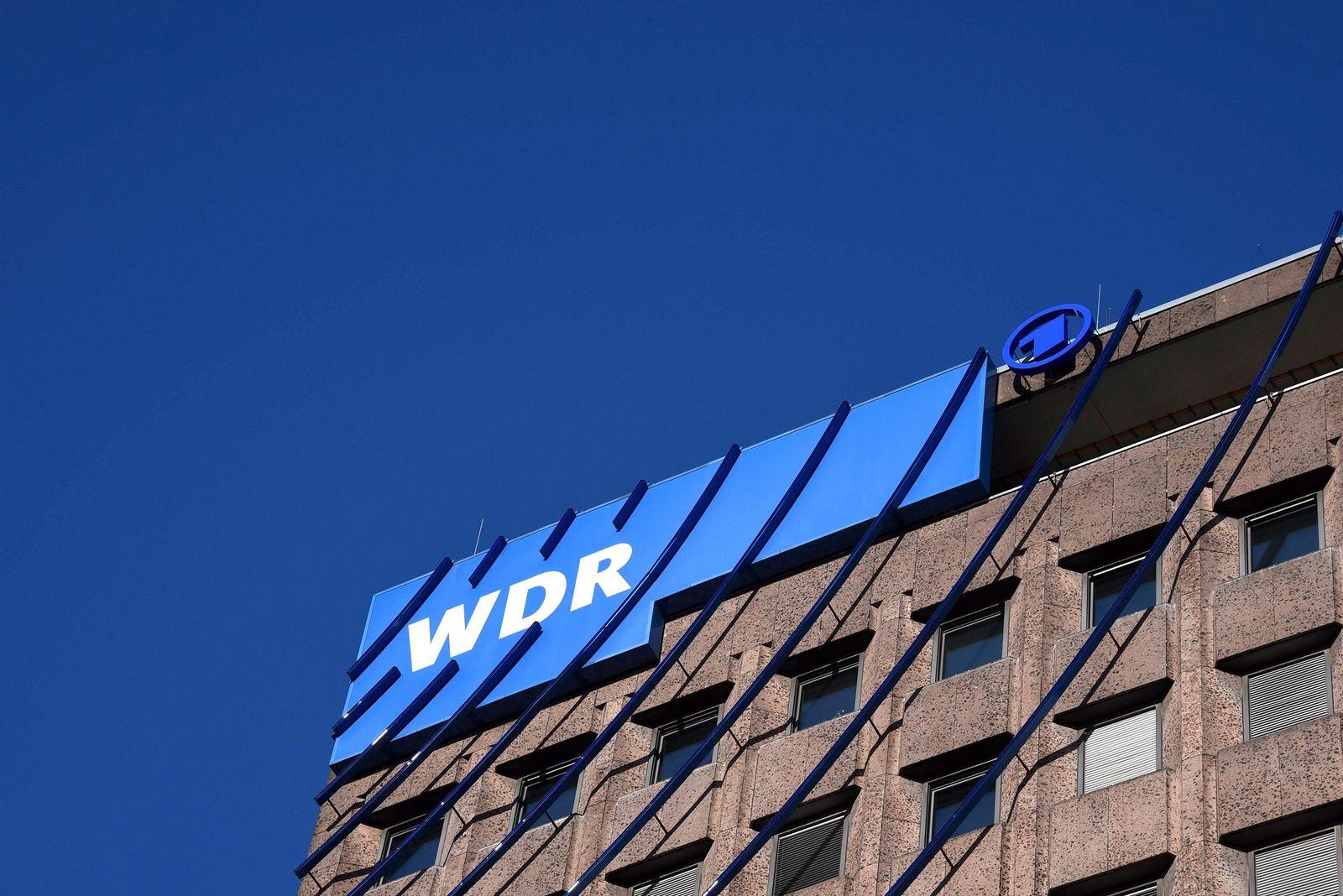 EINMALIGE VERWENDUNG WDR Logo Köln