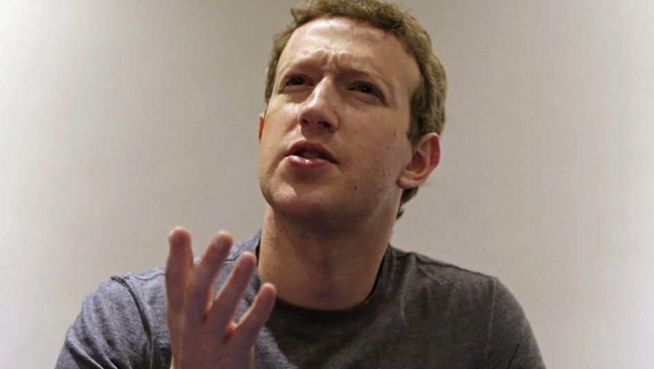 """Facebook-Chef Zuckerberg: """"KI-Systeme entwickeln, die besser sind als Menschen"""""""