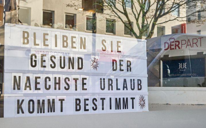 Reisebüro in Hamburg: Hoffnung auf bessere Zeiten