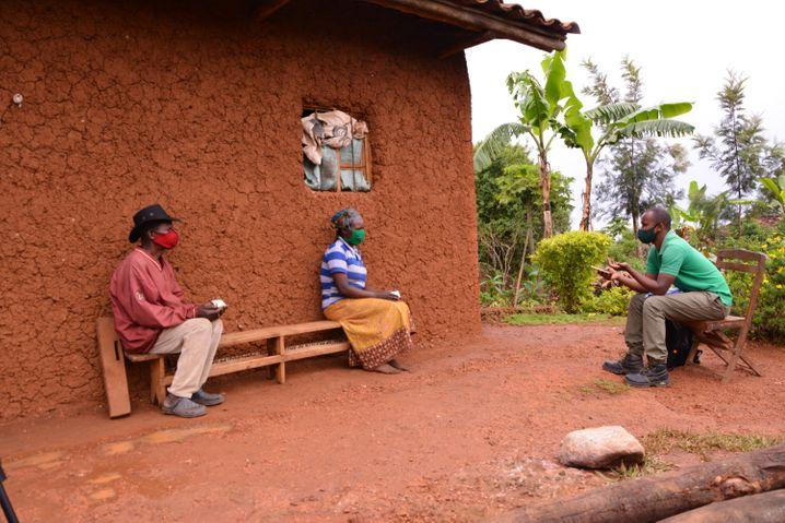 Abgelegene, ländliche Gebiete wie hier in Kenia sind in der Coronakrise schwer zu erreichen
