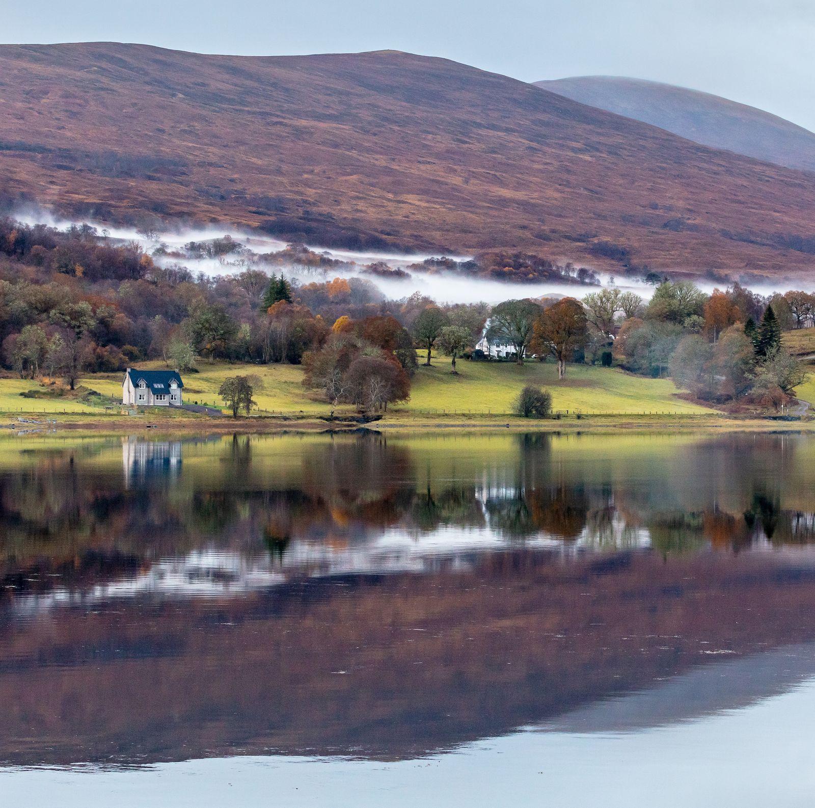Loch Eil Mist III, Highland, Scotland.
