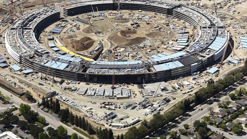 """Baustelle des """"Apple Campus 2"""""""