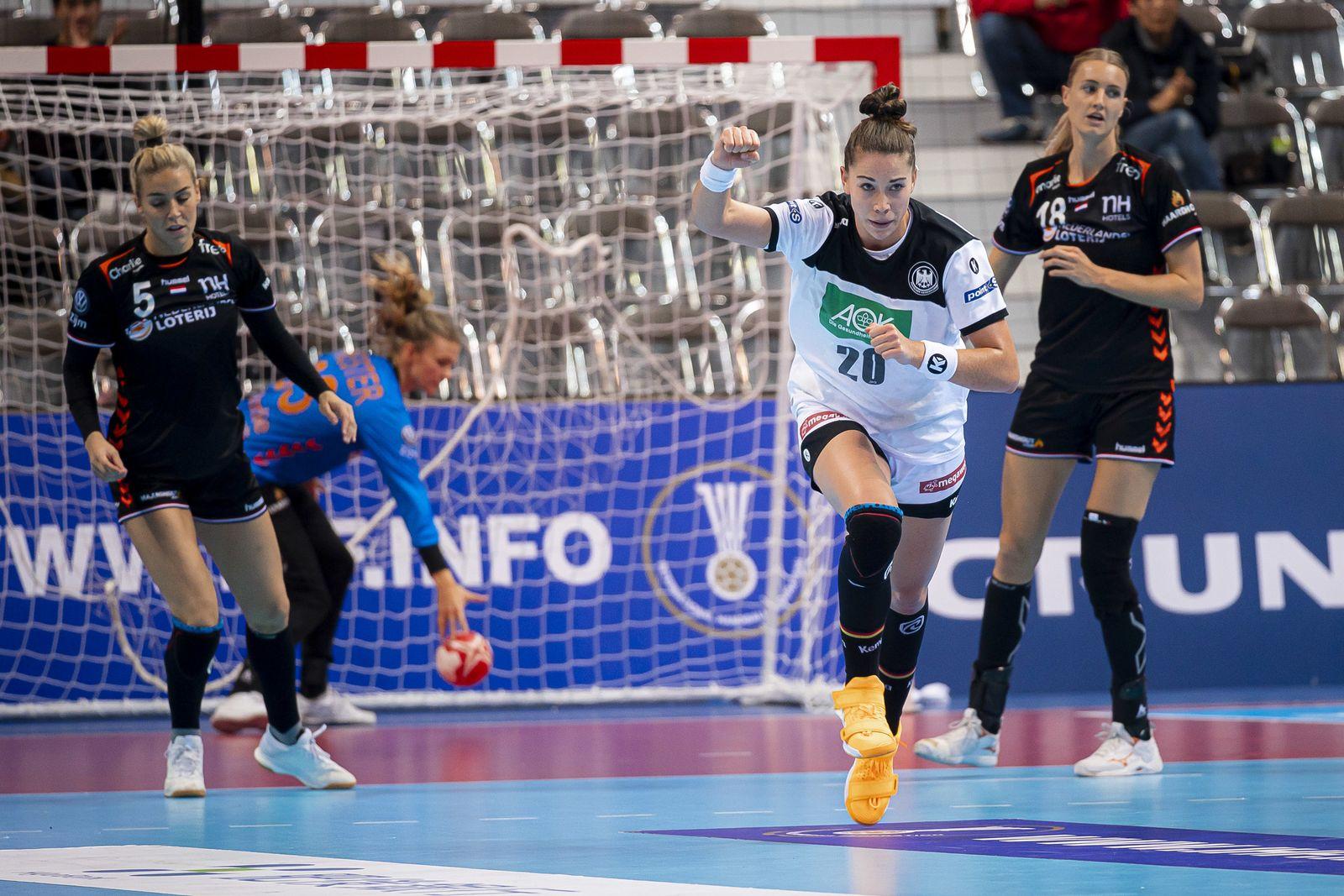 Handball Frauen WM Niederlande - Deutschland