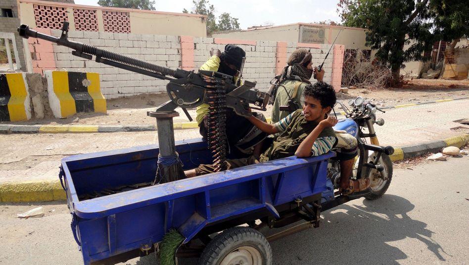 """Islamisten im Jemen (Archivbild): Mord an einem """"amerikanischen Missionar"""""""
