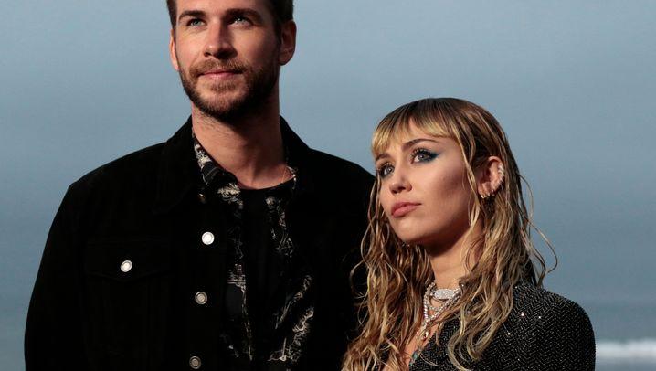Liam Hemsworth und Miley Cyrus: Bilder einer unsteten Beziehung