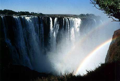 Victoria Falls near Livingstone, Zambia